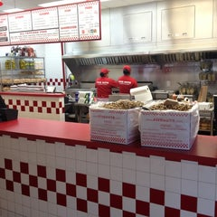 Photo taken at Five Guys by Daniel D. on 3/30/2012