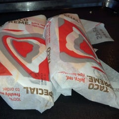 Photo taken at Taco Bell by Dain G. on 6/20/2012