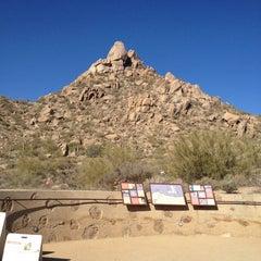 Photo taken at Pinnacle Peak Park by Becca @GritsGal on 3/13/2012
