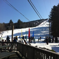 Photo taken at Cranmore Mountain Resort by Carol L. on 3/11/2012