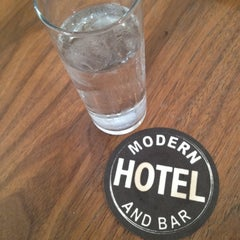 Photo taken at Modern Hotel & Bar by Lucus K. on 6/16/2012