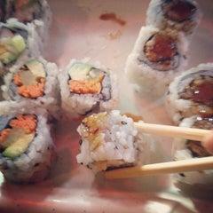 Photo taken at Mizu Sushi by Ashley M. on 7/24/2012