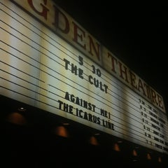 Photo taken at Ogden Theatre by Gavin O. on 5/31/2012