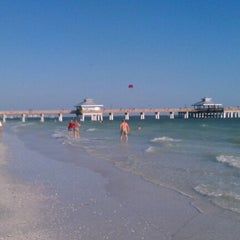 Photo taken at Fort Myers Beach by Craig S. on 4/11/2012
