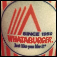 Photo taken at Whataburger by Bill R. on 7/21/2012