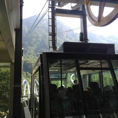 Photo taken at 설악케이블카 / Sorak Cable Car by EicChul S. on 8/5/2012