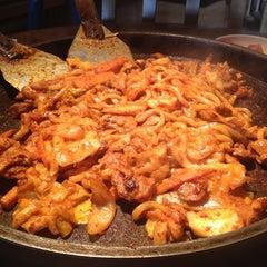 Photo taken at Chunchun Chicken Galbi by Michelle N. on 5/25/2012