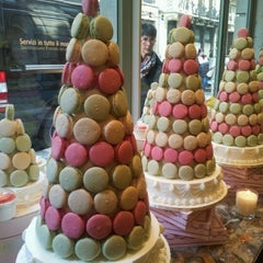 Photo taken at Ladurée by Mariagrazia V. on 4/23/2012