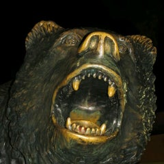 Photo taken at UCLA Bruin Statue by Jonathan B. on 3/11/2012
