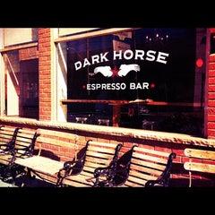 Photo taken at Dark Horse Espresso Bar by Sean W. on 6/26/2012