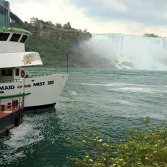 Photo taken at Maid Of The Mist - Canada entry by Nikki U. on 5/25/2012