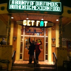 Photo taken at Fat Cactus Mexicali Cantina by Cinthia L. on 2/12/2012