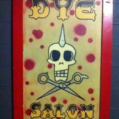 Photo taken at DYE Salon by Tim D. on 2/20/2012