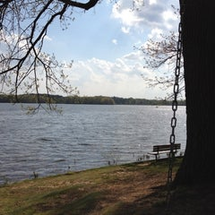Photo taken at Wingfoot Lake State Park by David R. on 5/3/2012