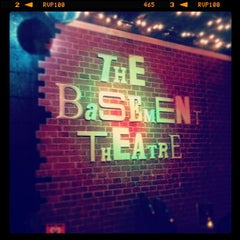 Photo taken at The Basement Theatre by Manny B. on 6/27/2012