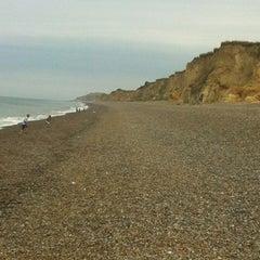 Photo taken at Weybourne Beach by Jason P. on 8/2/2012