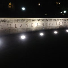 Photo taken at Tulane University by Ryan J. on 5/19/2012