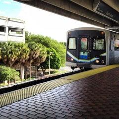 Photo taken at MDT Metrorail - South Miami Station by Joey B. on 8/3/2012