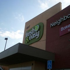 Photo taken at Fresh & Easy Neighborhood Market by Chito S. on 3/7/2012