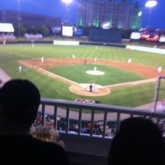 Photo taken at Dr Pepper Ballpark by Edna S. on 4/13/2012