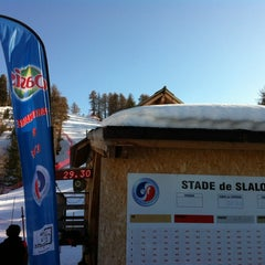 Photo taken at Stade de slalom by Renaud F. on 3/1/2012