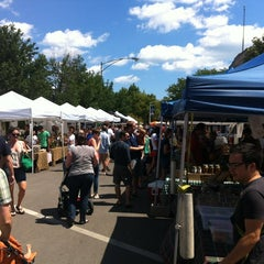 Photo taken at Logan Square Farmer's Market by Chad R. on 8/5/2012