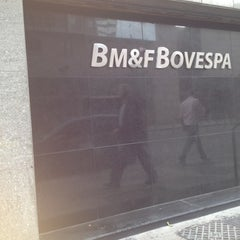 Photo taken at BM&F Bovespa by Matheus A. on 4/26/2012