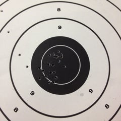 Photo taken at West Side Rifle & Pistol Range by arielle h. on 4/4/2012