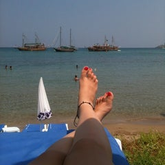 Photo taken at Escape Beach Club by Gizem D. on 8/2/2012