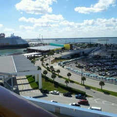 Photo taken at Port Canaveral by AiLing Y. on 3/1/2012