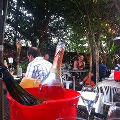 Photo taken at Bacchanal Wine by Cj B. on 6/2/2012