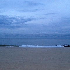Photo taken at Long Branch Beach by Danielle I. on 9/9/2012