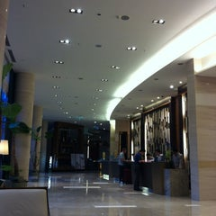 Photo taken at Courtyard by Marriott Seoul Times Square by Sukyong U. on 6/14/2012
