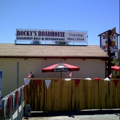 Photo taken at Rocky's Roadhouse & Trading Post by Henry D. on 7/7/2012
