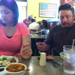 Photo taken at Sizzler Steakhouse by Amanda M. on 6/18/2012