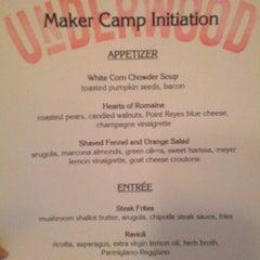 Photo taken at Underwood Bar & Bistro by Natalie V. on 7/18/2012