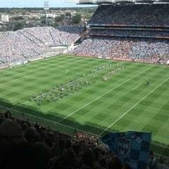 Photo taken at Croke Park by Tommy S. on 9/2/2012