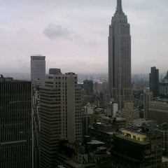 Photo taken at New York Times Building by Alyx H. on 3/21/2012