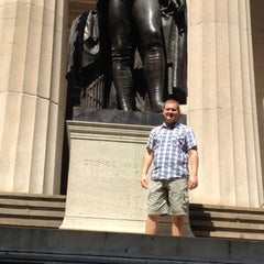 Photo taken at Federal Hall National Memorial by Steven W. on 8/2/2012