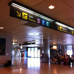 Photo taken at Terminal 1 by Silvia S. on 8/29/2012