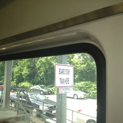 Photo taken at MBTA Canton Junction Station by Nelson B. on 7/2/2012