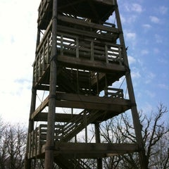 Photo taken at Lapham Peak Unit, Kettle Moraine State Forest by Claire A. on 3/16/2012