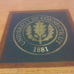 Photo taken at UConn Lodewick Visitors Center by Ally K on 3/31/2012