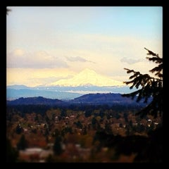 Photo taken at Mt. Tabor Park by Dannon R. on 4/13/2012