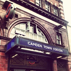 Photo taken at Camden Town by Katrina C. on 4/17/2012