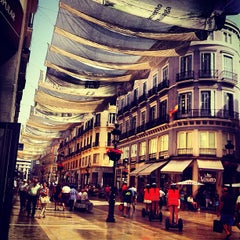 Photo taken at Calle Marqués de Larios by VictoRoldan on 8/22/2012