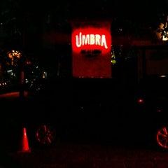 Photo taken at UMBRA Bar & Lounge by Satrio P. on 4/7/2012
