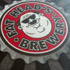 Photo taken at Fat Head's Brewery & Saloon by Kevin B. on 2/19/2012