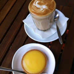 Photo taken at Au Matin Calme Patisserie by Katie H. on 4/13/2012