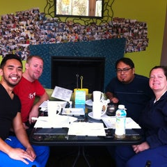 Photo taken at Crepes A Latte The Cafe by Sharona A. on 8/19/2012
